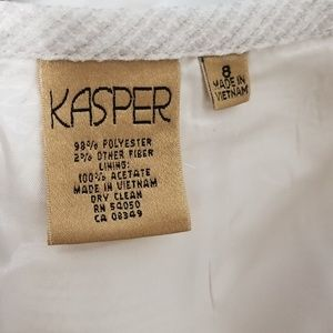 Kasper Dresses - Kasper Brazilian Sky Two Piece Suit